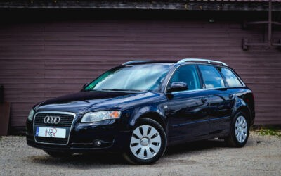 Audi A4 2005.gada [Tikko ievesta]