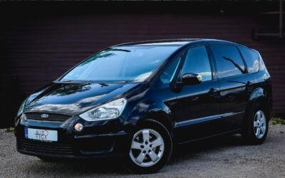 Ford S-Max 2008.gada 7 vietas [Tikko ievesta]