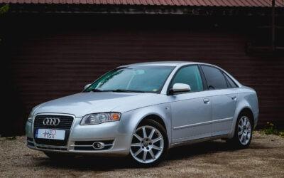 Audi A4 2005.gada [Tikko ievests] Jauna TA