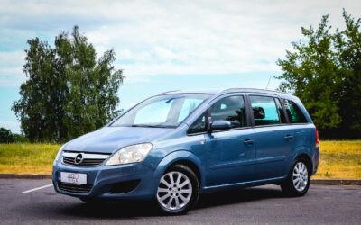 Opel Zafira 2008.gada