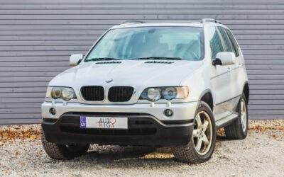 BMW X5 2002.gada